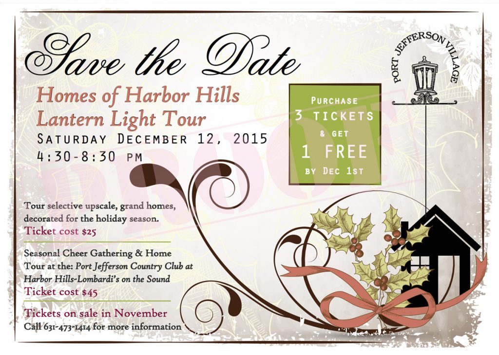 Harbor Hills Latern Light Tour 2015